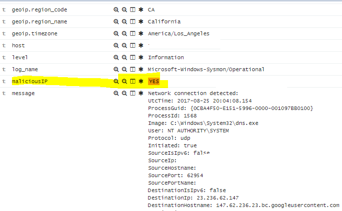 Detecting Outbound connections Pt  2 - Logstash + Threat