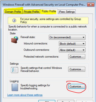 Collecting and sending Windows Firewall Event logs to ELK